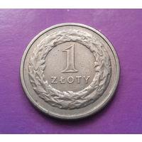 1 злотый 1995 Польша #03