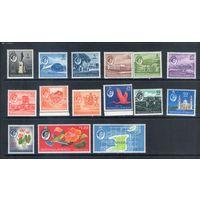 Тринидат и Тобаго  колония Великобритании легкие следы наклеек 35 михель-евро