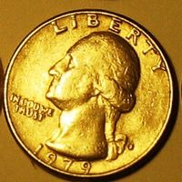 Квотер (25 центов) 1979 США