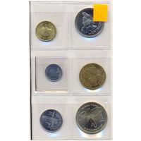 Гватемала комплект монет (6 шт.)