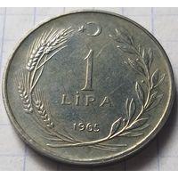 Турция 1 лира, 1965        ( 7-9-4 )