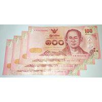 Таиланд, 100 бат (2015 год)