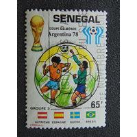 Сенегал 1978г. Спорт.