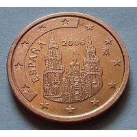 2 евроцента, Испания 2006 г., AU
