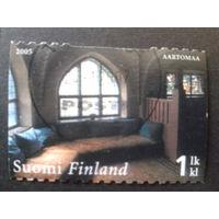 Финляндия 2005 комната в доме