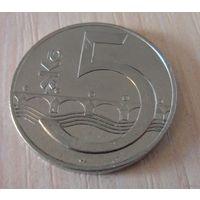 5 крон Чехия 1993 г.в., из коллекции