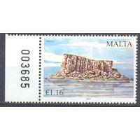 Мальта море скала