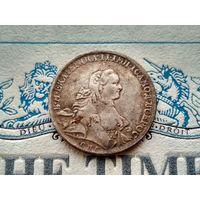 Монета РИ, 1 рубль 1762.