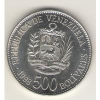 500 боливаров 1991 г.