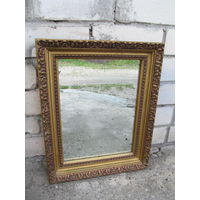 Зеркало настенное, рама гипс