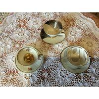 Чашки Кофейные Германия фарфор старинные 3 шт