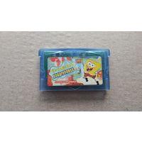 Картридж GameBoy Advance SpongeBob Squarepants не оригинал