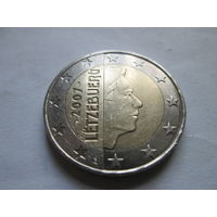 2 евро, Люксембург 2007 г.