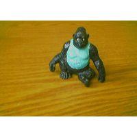 Горилла Gorilla (обезьяна). Производство Bullyland. Made in Germany. 1988г.