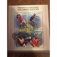 Уганда 2013. Большой теннис. Малый лист