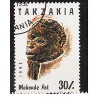 Танзания. 1992. Резьба по дереву.