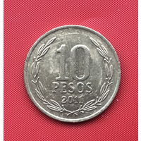 75-26 Чили, 10 песо 2011 г.