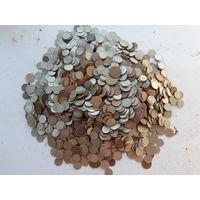 Монеты СССР 1961-1991 вес 4,7 кг без МЦ старт с 1 рубля