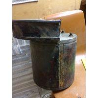 Старинная бочка, Рукомойник, емкость с краником/насадкой для шланга Латунь/бронза