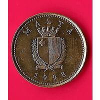 23-02 Мальта, 1цент 1998 г.