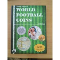 2018 Каталог монет мира на тематику футбол от автора