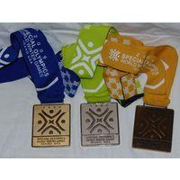 Олимпийские медали: золото, серебро, бронза. США 2009 г.!