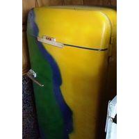 Холодильник зил Москва,СССР, 60-е годы, ПОЛНОСТЬЮ рабочий, дизайнерский тюнинг