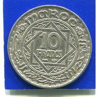 Марокко 10 франков 1947 (1366)