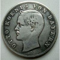 Королевство Бавария. 2 марки 1907 г.