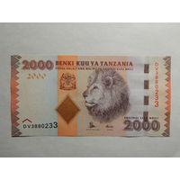 Танзания 2000 шиллингов 2011г UNC