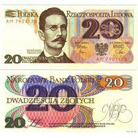 Польша. 20 злотых (образца 1982 года, P149, UNC)