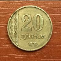 Таджикистан, 20 дирамов 2011