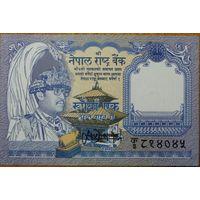 Непал. 1 рупия 1991 года. UNC