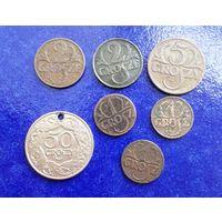 Польша 7 монет