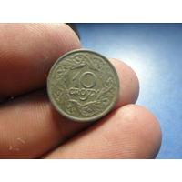 10 грошей 1923 г. Межвоенная Польша