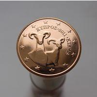 5 евроцентов 2011 Кипр UNC из ролла