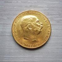 100 крон 1915 Франц Иосиф! Цена металла!!!