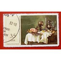 ГДР. Живопись. ( 1 марка ) 1982 года.