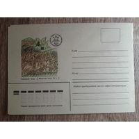 1980 не маркированный конверт Куликовская битва