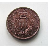 5 сантим 1936 Сан Марино UNC