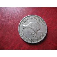 1 флорин (2 шиллинга) 1964 года Новая Зеландия