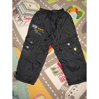 Тёплые штаны деми 92- 98