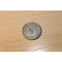 5 марок 1975 год, J.