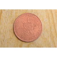 Голландская Индия 2 1/2 цента 1920