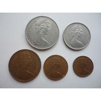 Великобритания ( набор новых пенсов )