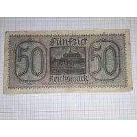 Германия 50 рейхсмарок 1939-1945 для оккупированных территорий