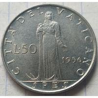 Ватикан 50 лир, 1956         ( 4-7-4 )