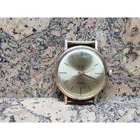 Часы Poljot de Luxe,позолота au20,состояние.Старт с рубля.