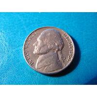 5 центов 1964 D СШA медно-никелевый сплав 546