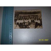 Коллективное фото музыкантов моряков